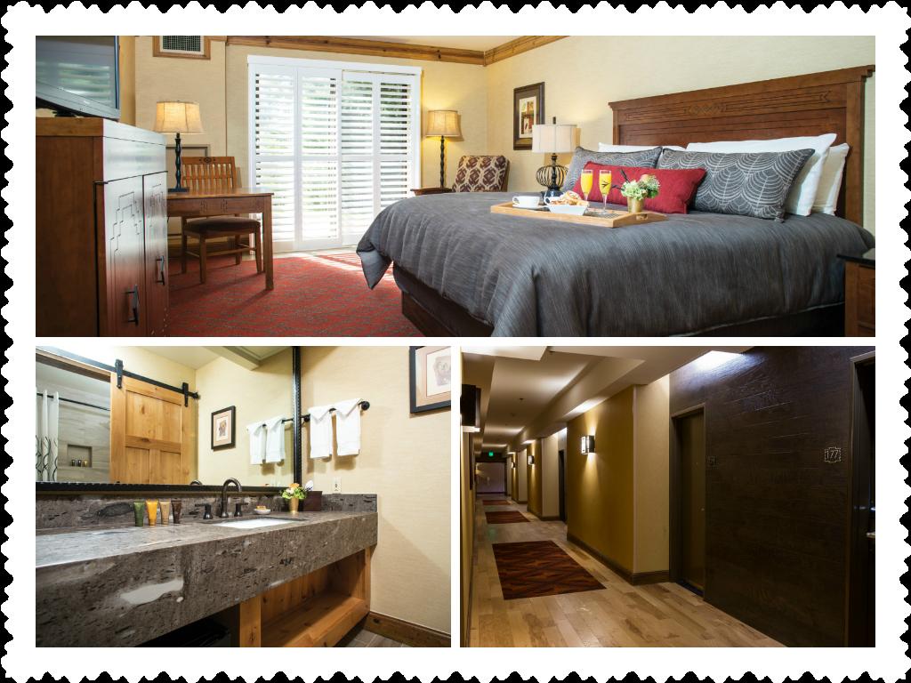 Newly renovated rooms at Tenaya Lodge!