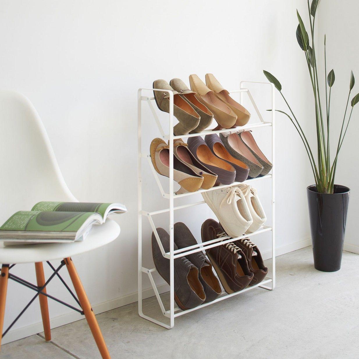 schuhregal wei schmal elegant flur schuhregal schmal attraktive schuhregale die ihren innenraum. Black Bedroom Furniture Sets. Home Design Ideas