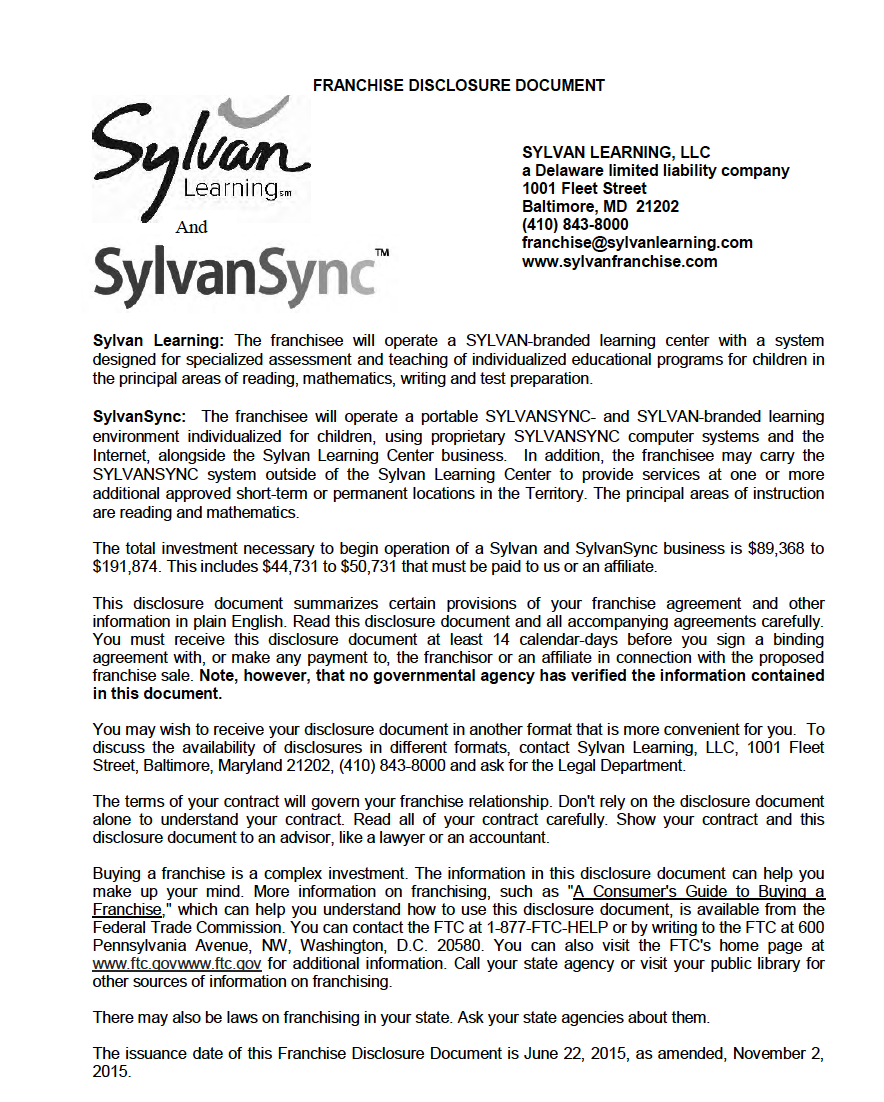 Fdd For Sylvan Learning  Sylvansync Download The Sylvan Learning