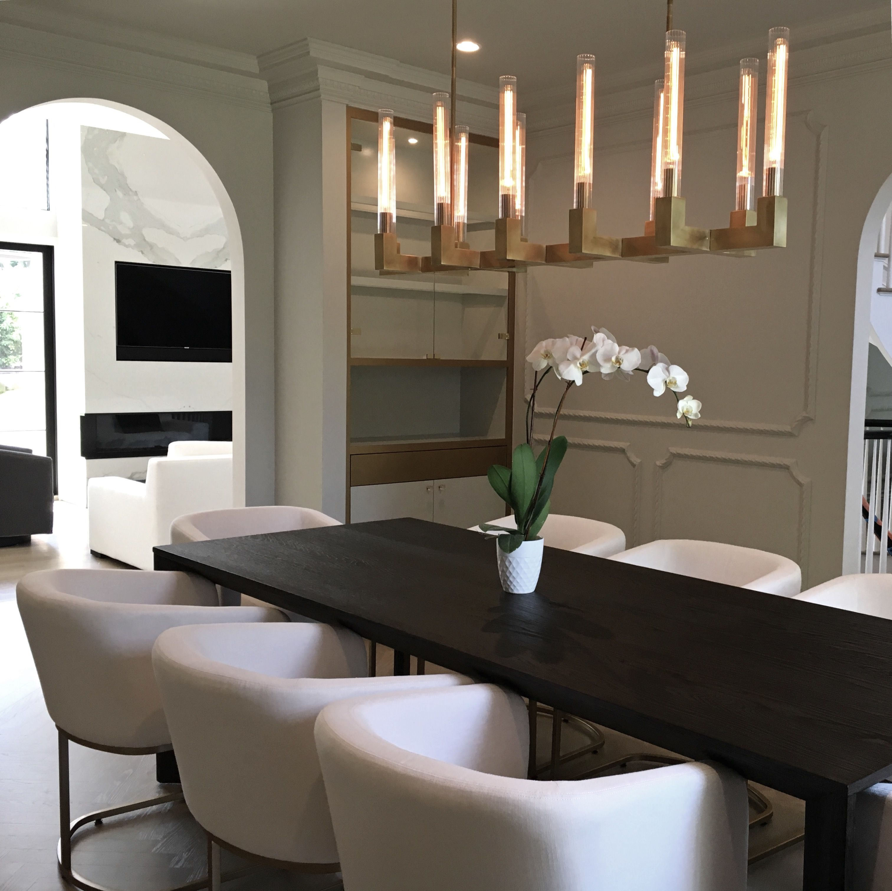 126 Custom Luxury Dining Room Interior Designs: One Of Our Long Island Residence's Dining Room Design With