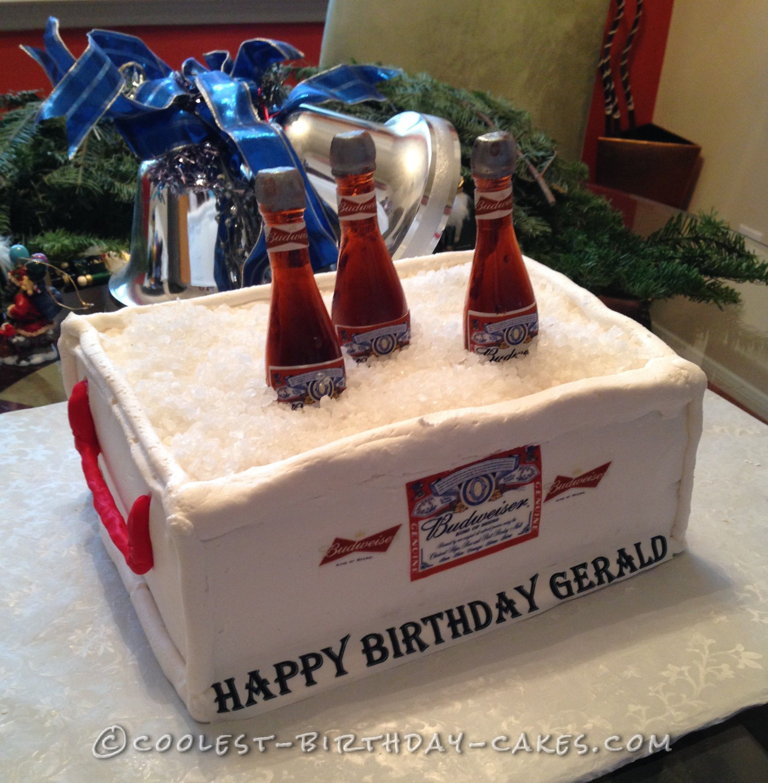 Coolest Easy Homemade Budweiser Cake Budweiser cake Birthday
