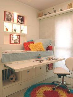 Habitaciones infantiles peque as aprovecha todo el - Habitaciones infantiles pequenas ...