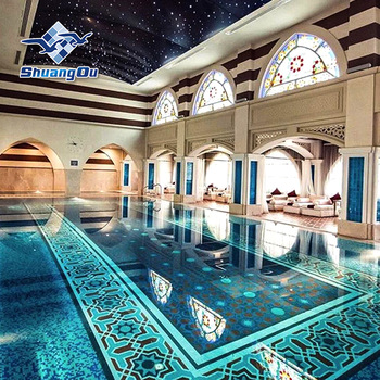 Cheap Prices Custom Pattern Indoor Swimming Pool Tile Mosaic ...