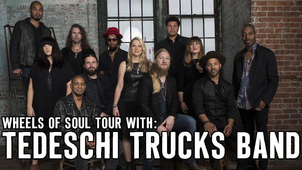 Tedeschi Trucks Band play Green River Festival July 10, 2016
