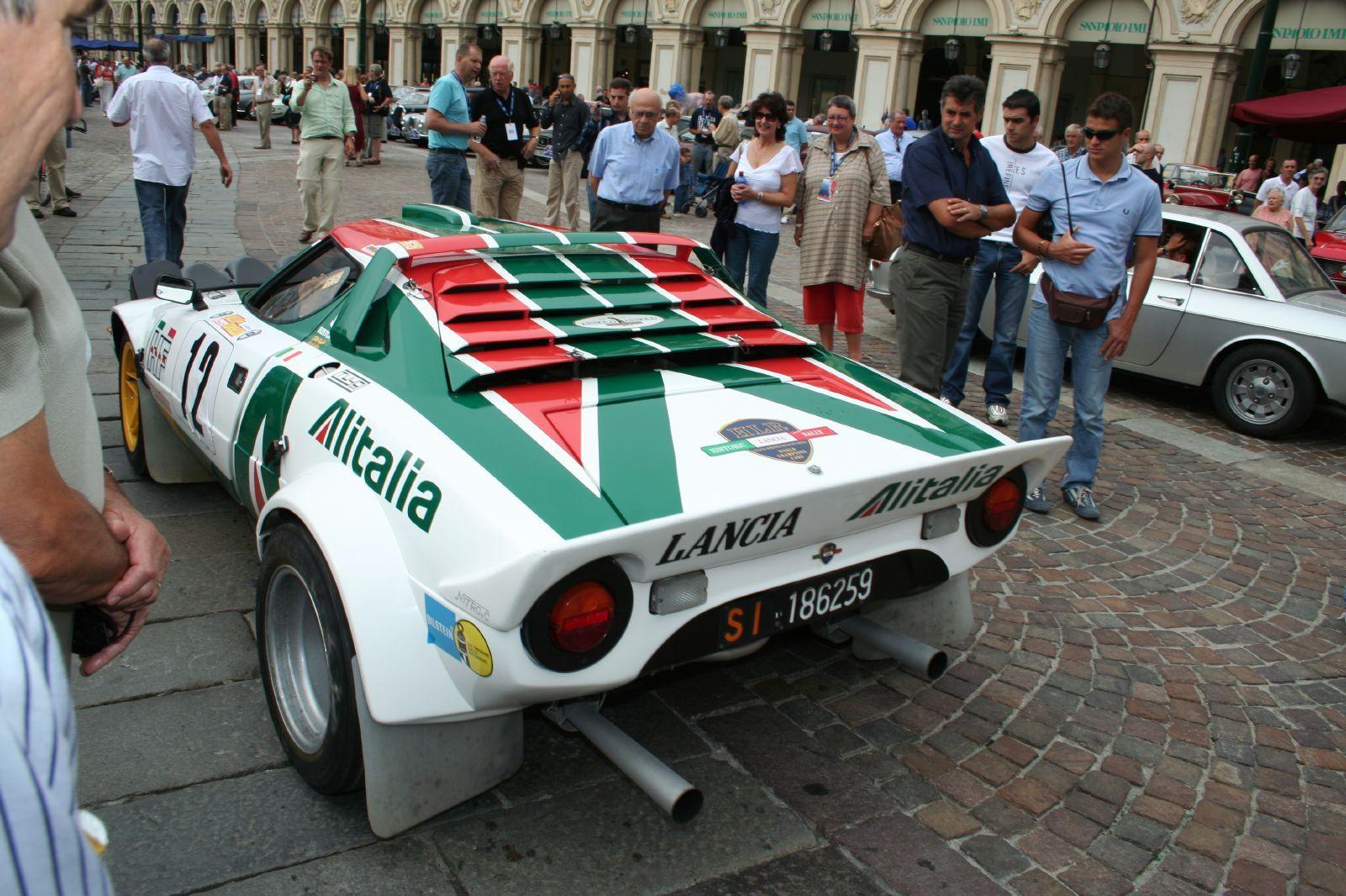 Lancia Stratos...Alitalia proud!