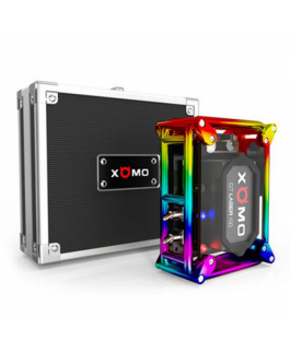 Xomo 150w GT laser 255 S box mod Features 3500mAh battery, 3 level adjustable voltage, water proof Quick power on, 0.025s quick fire button, 5 colors available:silver/black/red/gold and rainbow With laser lights