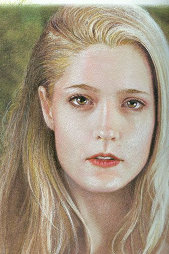 Realistic Portrait Art: How to draw in Prismacolor colored pencils & mixed Media; An Art lesson in drawing & shading techniques & Ladies Portrait Gallery by Howard David Johnson