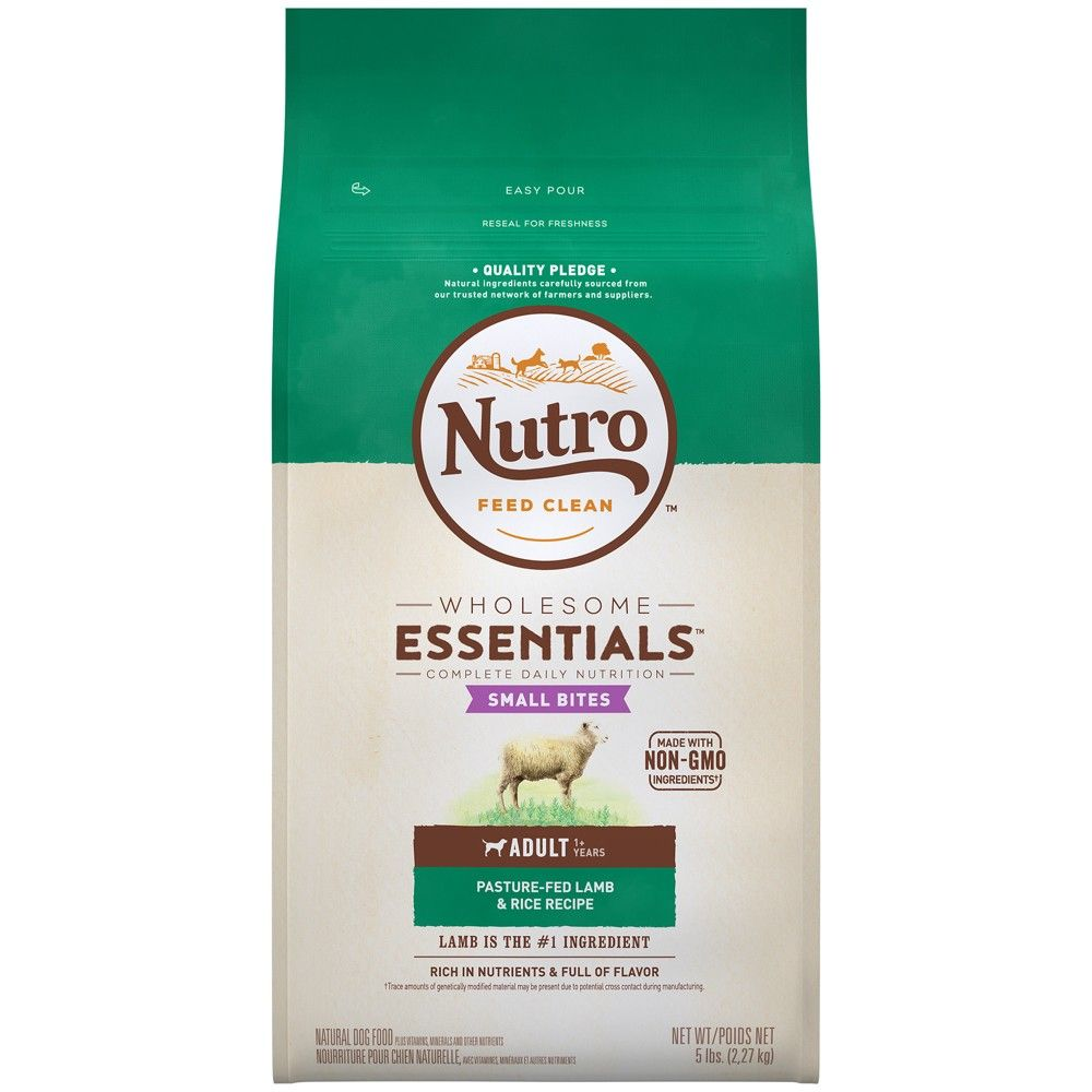 Nutro Wholesome Essentials Small Bites Adult Lamb Rice Dry Dog