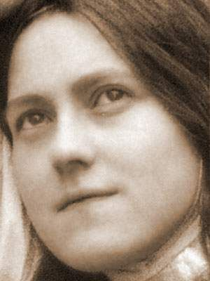 St. Therese of Lisieux, doctor of the Church, simple French girl that died at 24