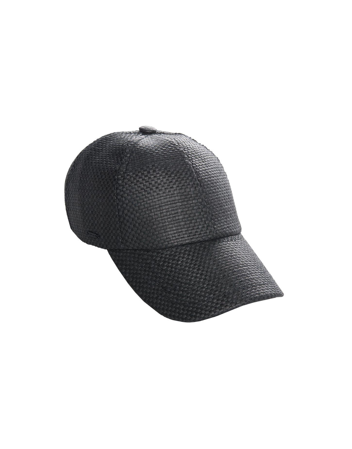 Sommerliches Sports Deluxe Cap in Flecht-Optik.