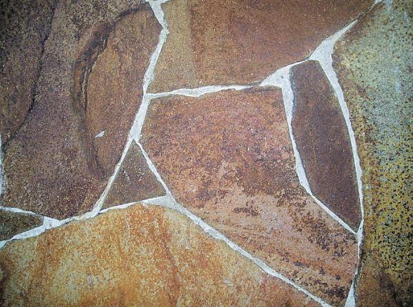 Andesit A2 brudfliser som - terrasse belægning eller havefliser ...