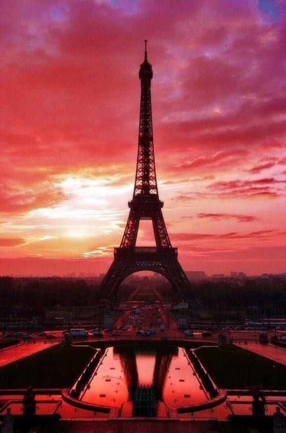 Amanecer desde Paris