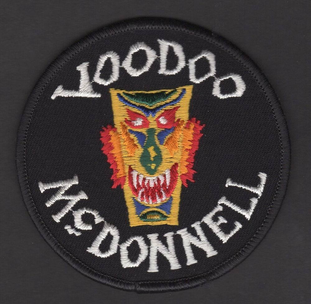 USAF F101 Voodoo McDonnell TechRep Patch McDonnell