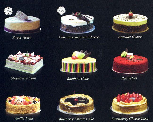 Price List Harvest Cake