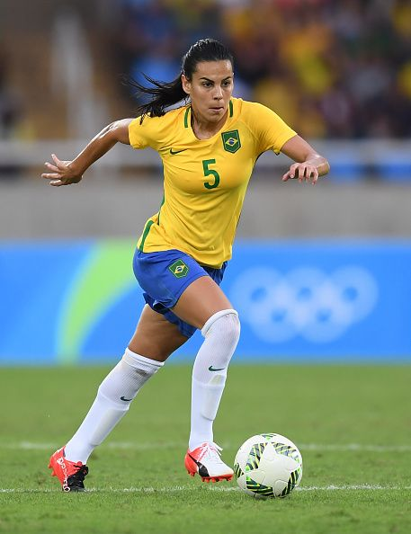 1d1ddcd60c  RIO2016 Thaisa of Brazil during the Women s Football first round Group E  match between Brazil and China on Day 2 of the Rio 2016.