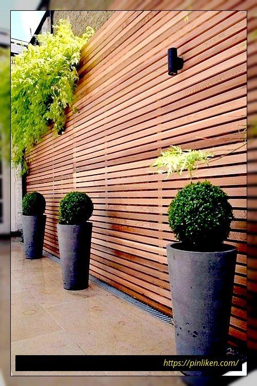 78 Ideen Moderner Gartenzaune Fur Sommerideen In 2020 Garten Design Gartendekoration Moderner Garten
