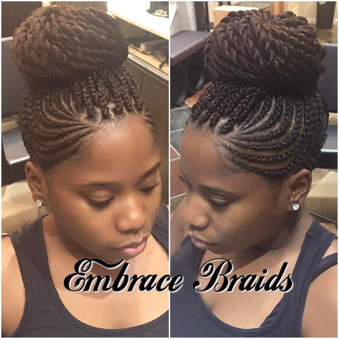 565 Likes 33 Comments Master Braider Embra Bka Em Embracebraids On Instagram Mohawk Braids Mohawk Scalp Braids Natural Hair Styles Mohawk Braid