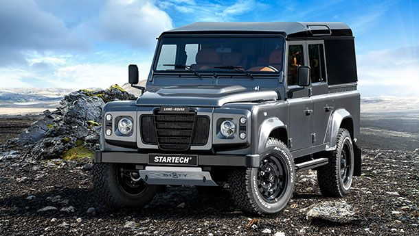 Startech Sixty8 Special Model Land Rover Defender With Images