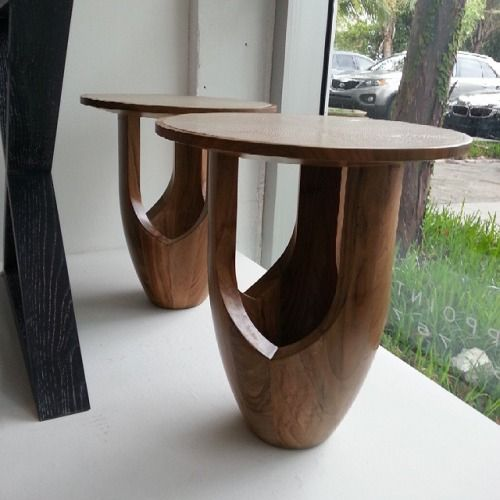 Oh my GOODNESS…  this is #tableporn #furnitureporn #shagreen #walnut #midcenturymodern #minimalist  (at Miami Iron Side)