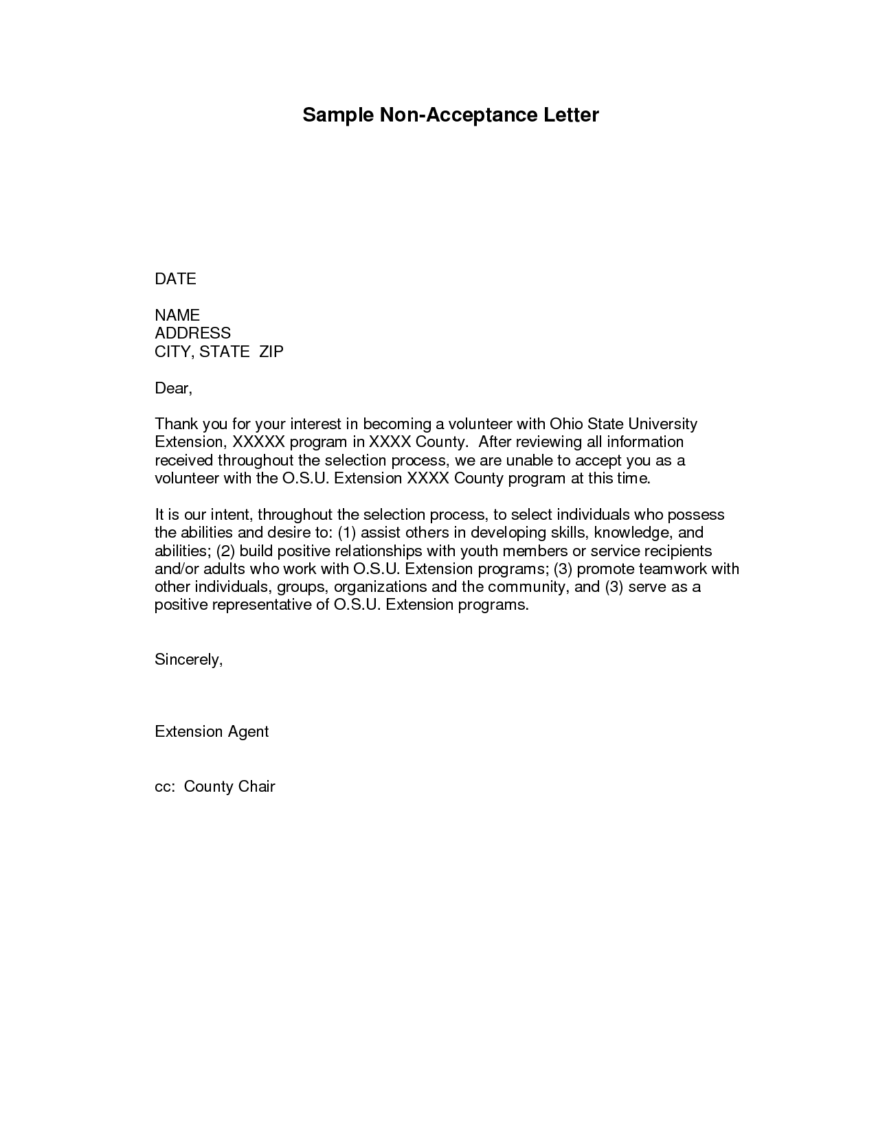 Program Acceptance Letter   Sample Letter Accepting An Offer Of Admission  To A Graduate Program.  Apology Acceptance Letter Sample