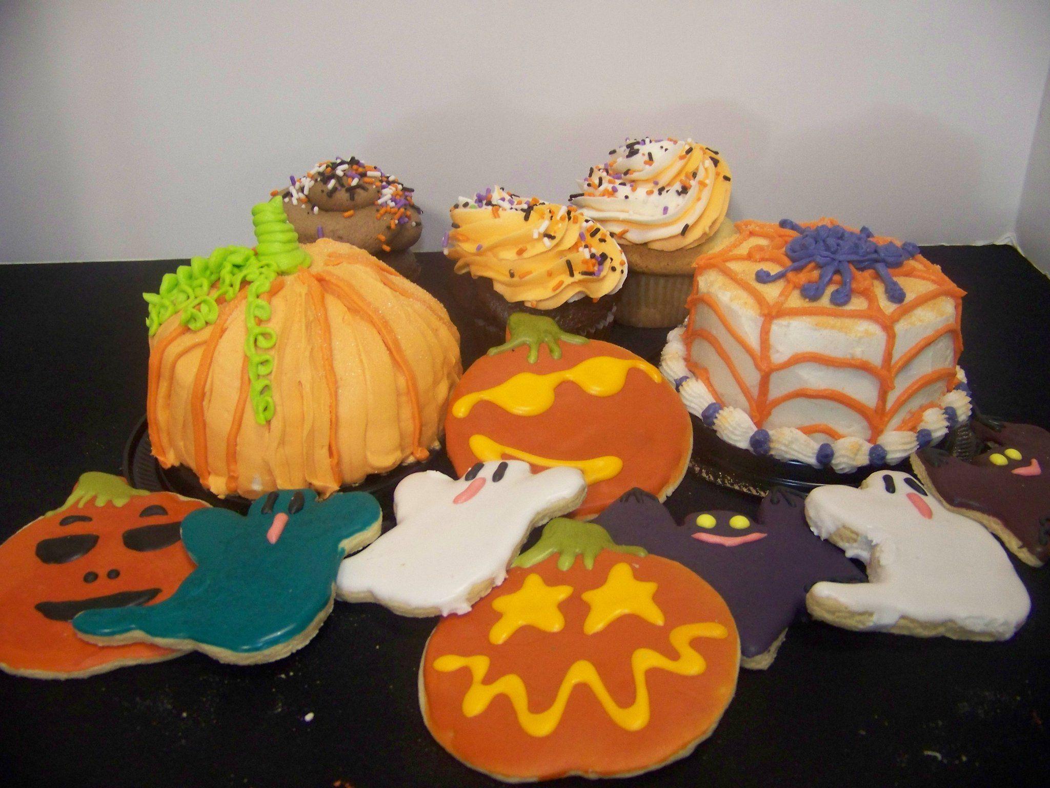 Halloween desserts available at Adagio