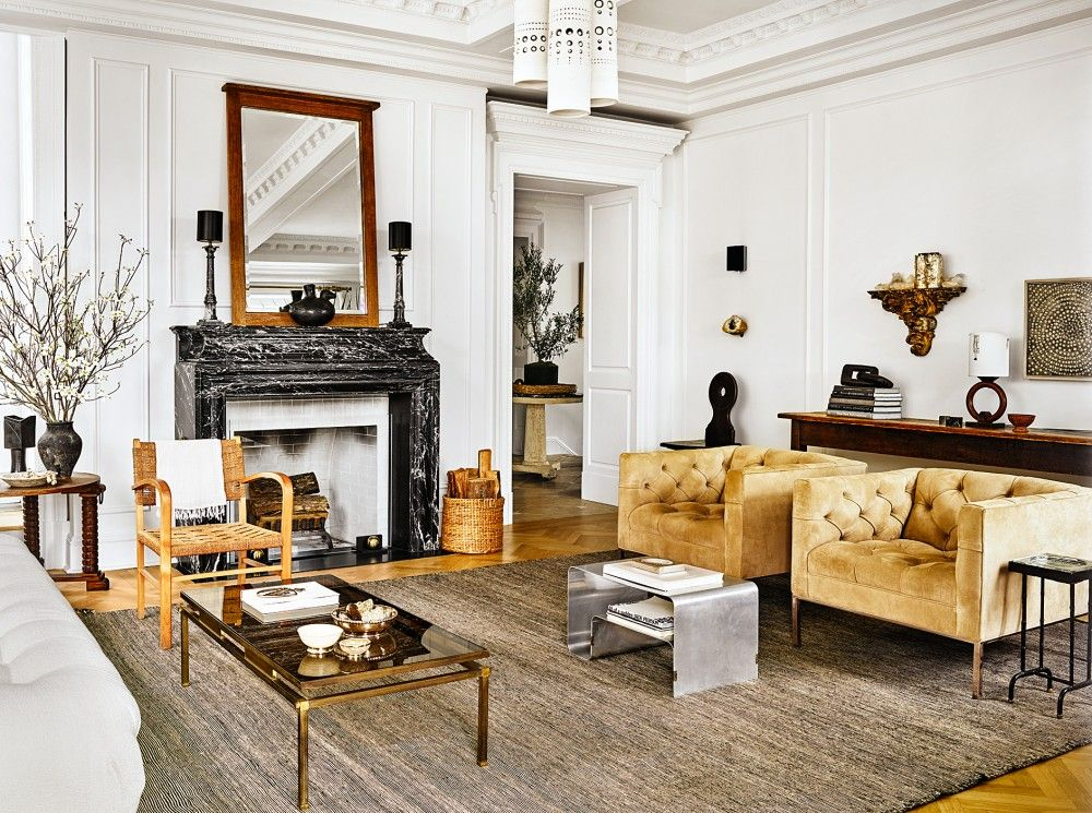 Living Room by Nate Berkus and Jeremiah Brent in New York NY