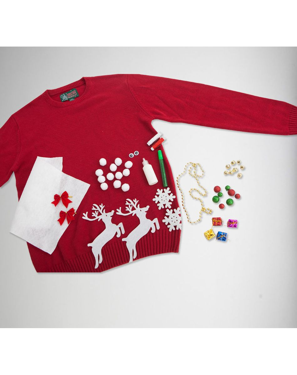 Spencers Ugly Christmas Sweaters.Ugly Christmas Sweater Kit Via Spencers Holiday Gift Ideas
