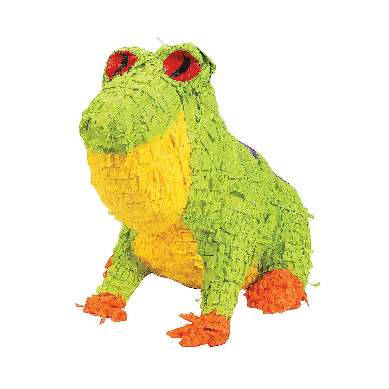 Frog Luau Piata - Celebrate