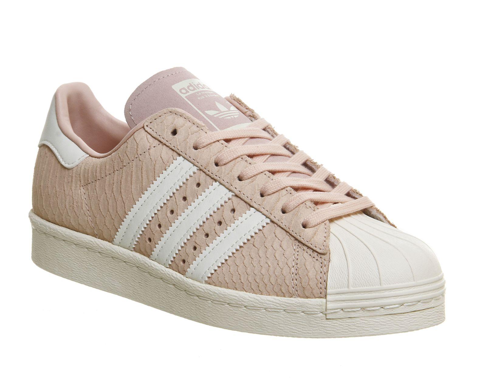 Adidas, Superstar 80s, Blush Pink Off White