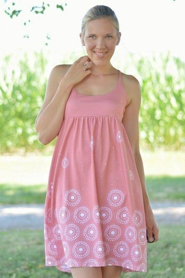 hübsches sommerkleid nähen | sommerkleid, kostenloses