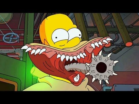 Treehouse Of Horror Xxiv Guillermo Del Toro Intro All References Youtube Simpsons Treehouse Of Horror The Simpsons Cartoon Tv Shows