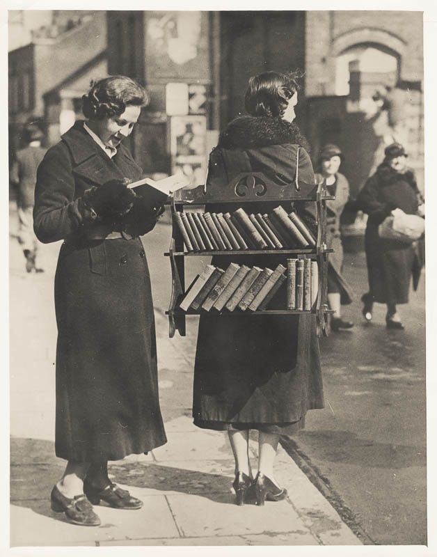 The Walking Library (Cincinnati Library archives)