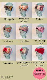 www.divarosa.com turbantes ❤️