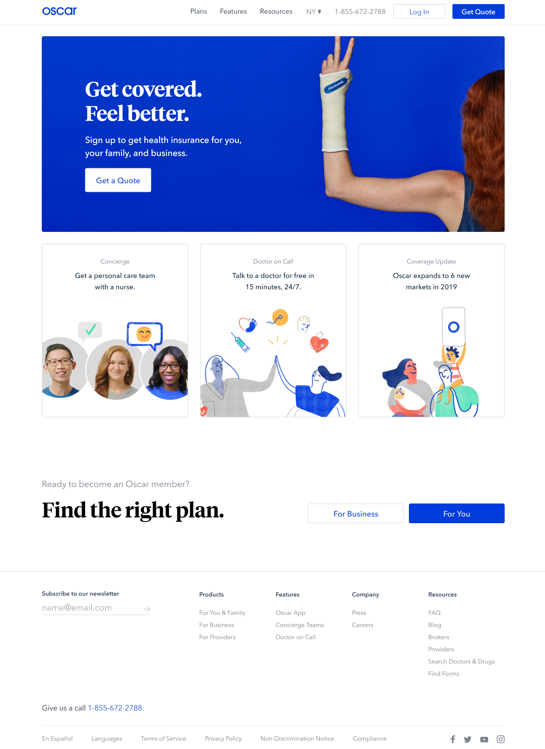 Oscar Health Insurance Made Easy Health Insurance Companies Simple Health Care Team