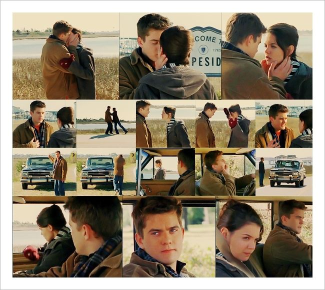 Joey and Pacey...dawson creek,,,brings me back to watching it with my sis and mom:)