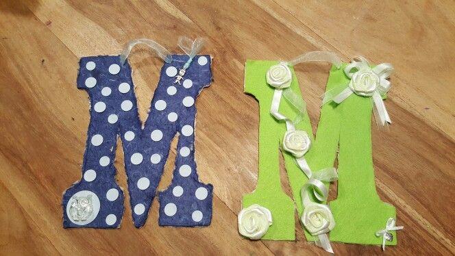 """Lettere decorate """"M"""""""