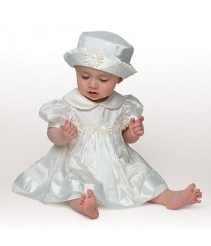 3b6be58c10f5 Little Darlings Christening Girls Dress