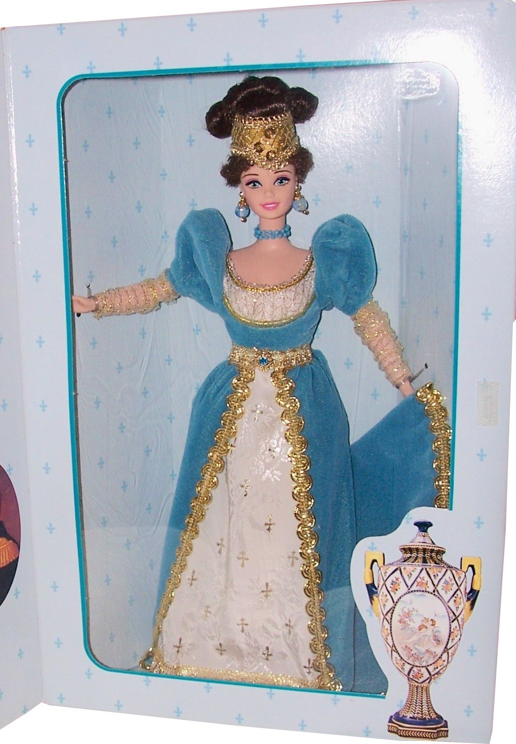 collector edition great eras french lady barbie doll
