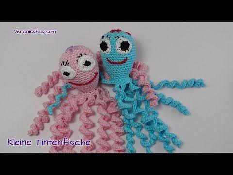 Häkeln Tintenfisch Amigurumi Häkeltiere Veronika Hug Teil 1
