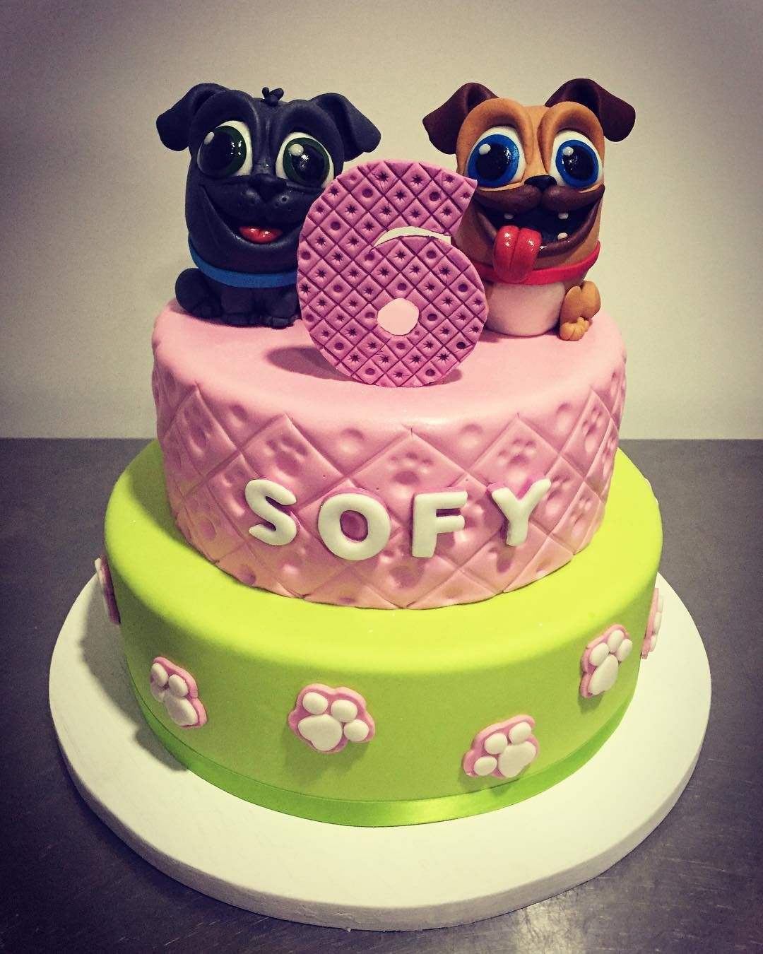 Image Result For Puppy Dog Pals Cake Puppy Birthday Baby