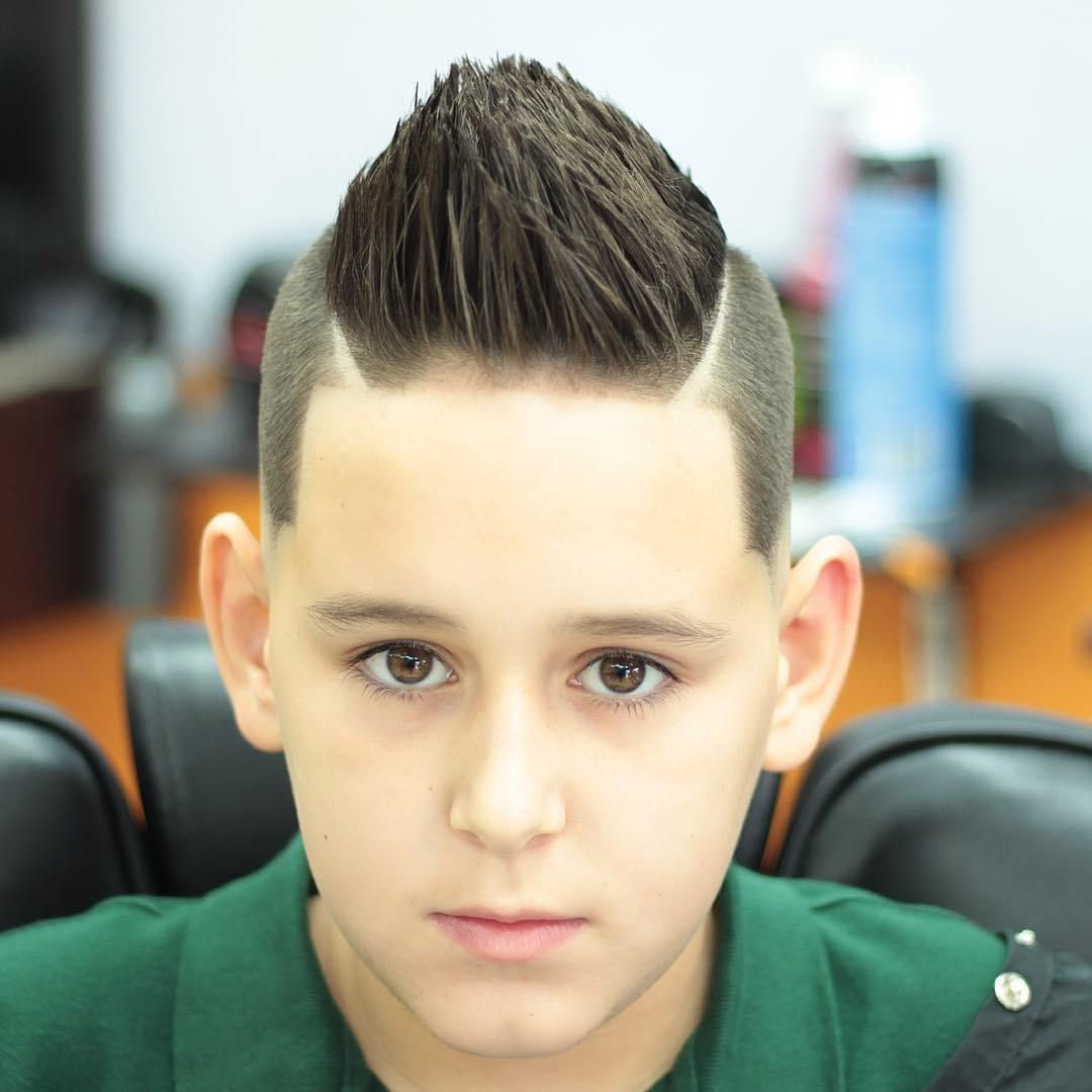 Double Parted Spike For Round Faces Men Haircuts With Round Faces
