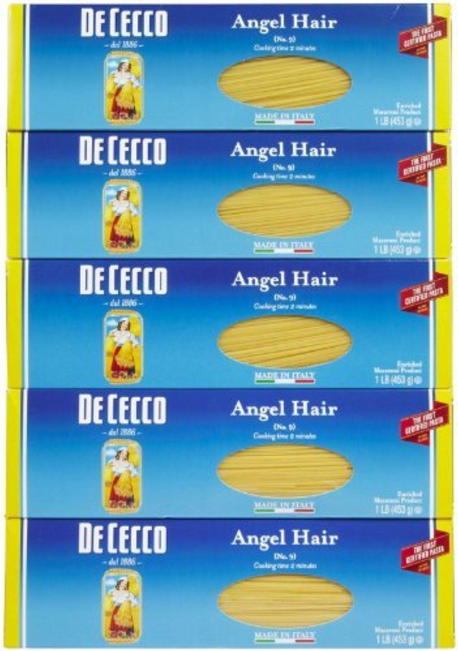 De Cecco Angel Hair Pasta 16 Oz Boxes 5 Pk By De Cecco Awesome