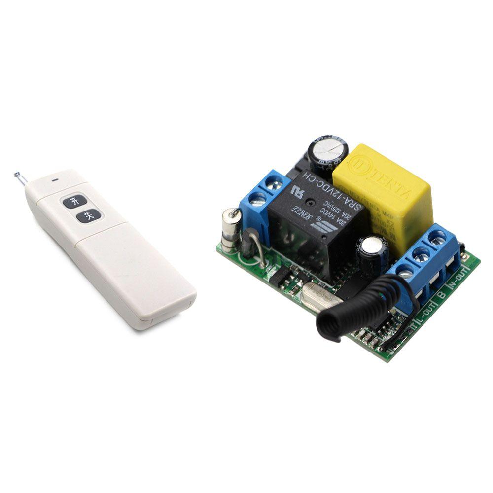 Best Price AC 220V 1CH Wireless Remote Control Lighting