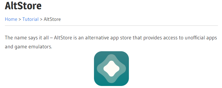 AltStore App Download ( iPhone and iPad ) Online tech