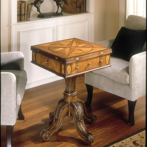 Chicacco Connoisseur\u0027s Game Tables - Veneer Inlay Stuff I wanna