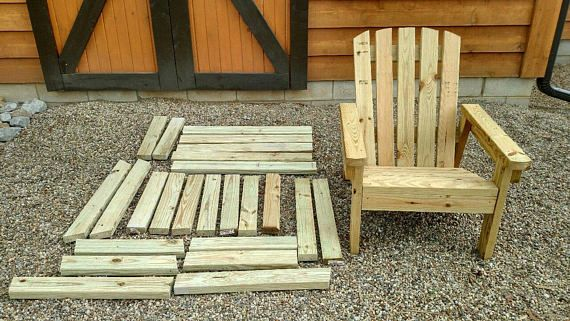 2X4 Diy Adirondack Chair Plans Simple Plans For A 400 x 300