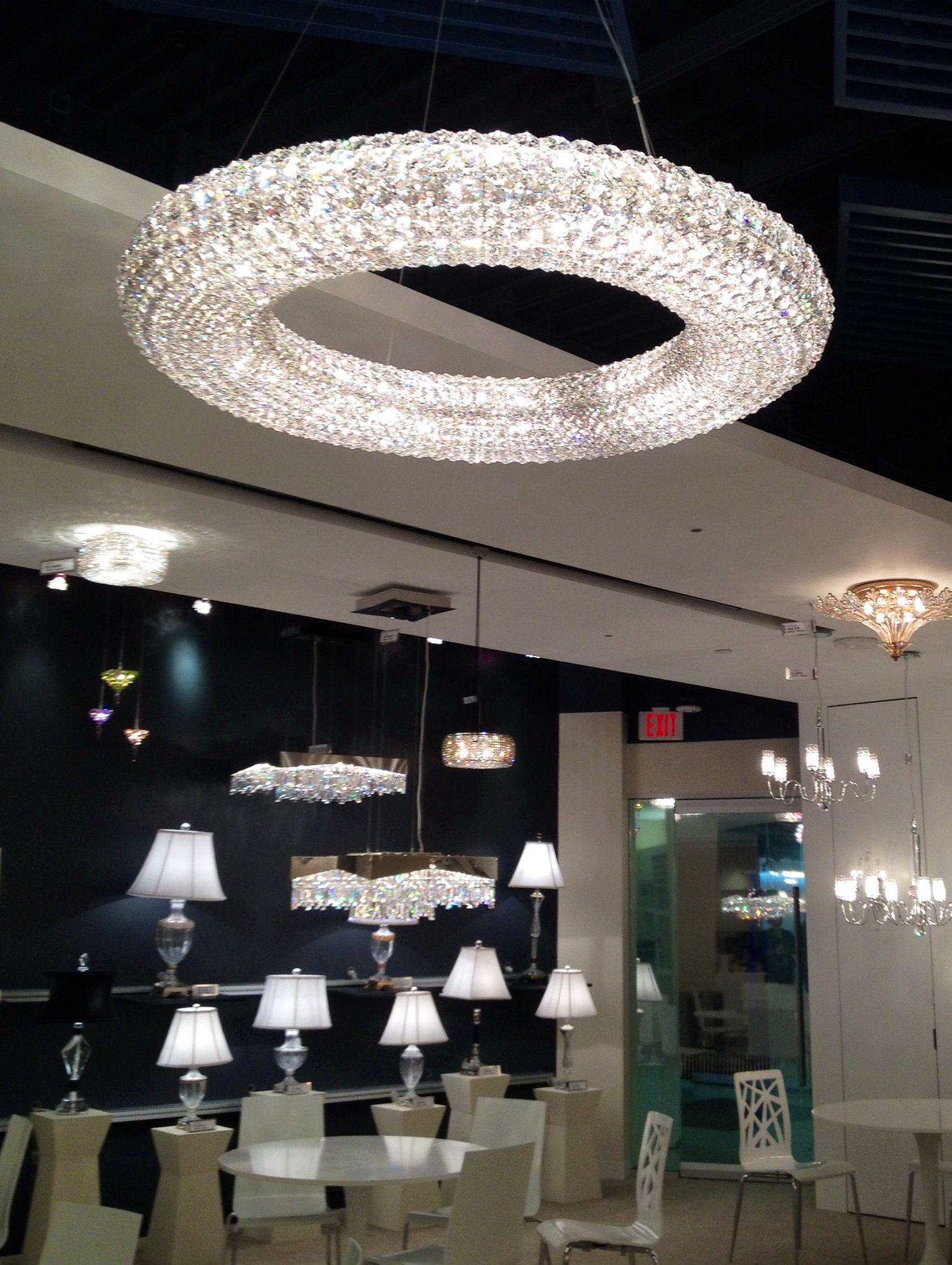 Stunning! Schonbek chandeliers #JuneSneakPeek
