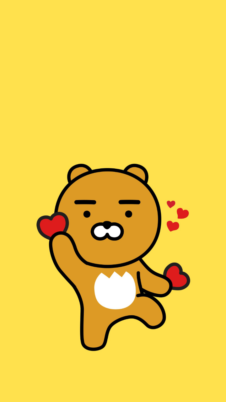 Cute Bts Drawings Wallpaper 카카오프렌즈 라이언 아이폰 고화질 배경화면 01 네이버 블로그 Cartoon Pinterest