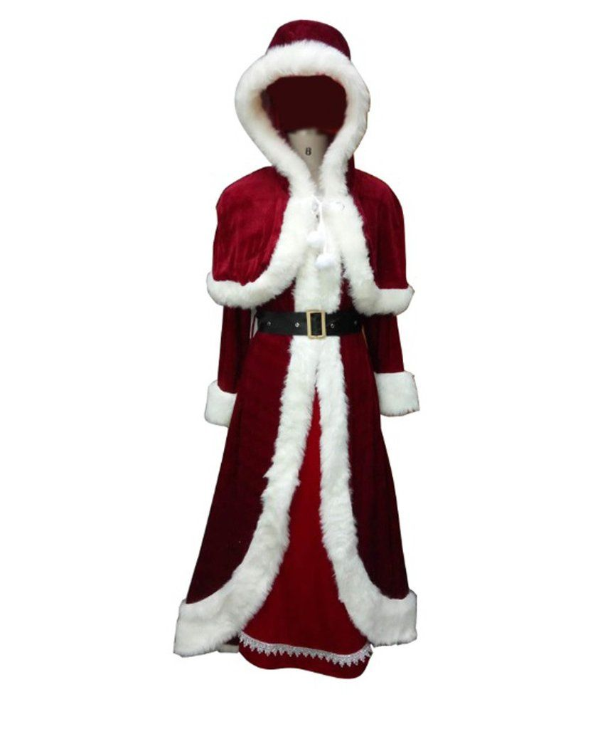 Classic Mrs Santa Claus Christmas Adult Costume