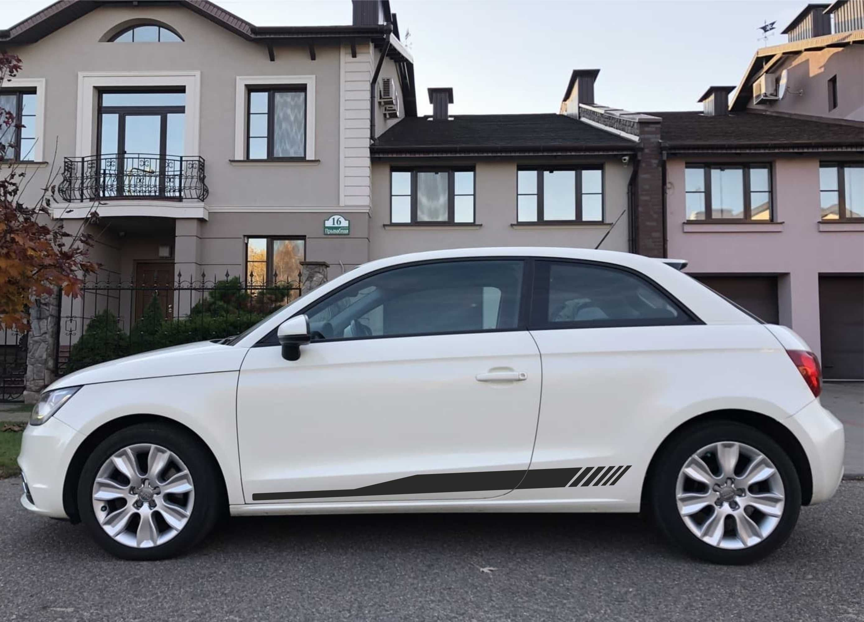 For Audi A1 Side Stripes Matt Or Glossy Decals Etsy In 2021 Audi A1 Car Stripes Cute Cars